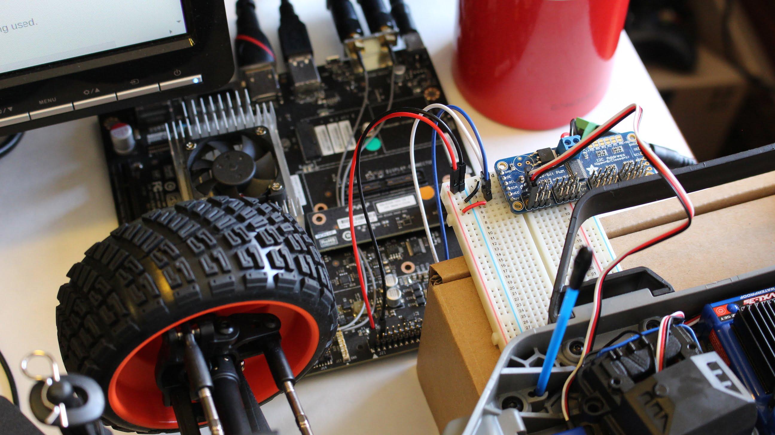 Jetson Traxxas Steering Interface