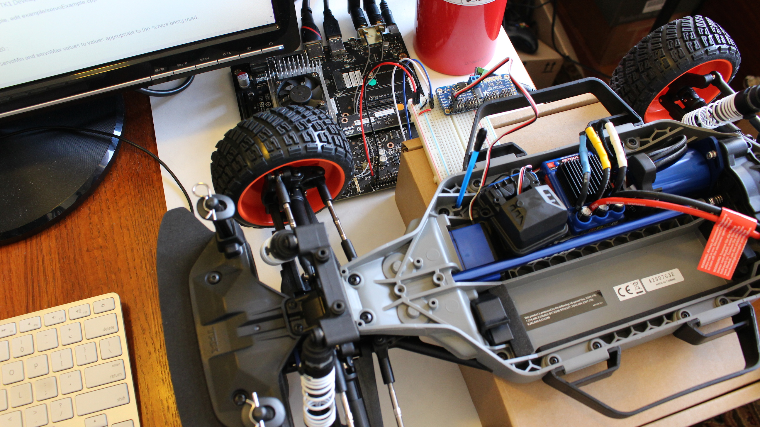 Jetson RACECAR Steering FI