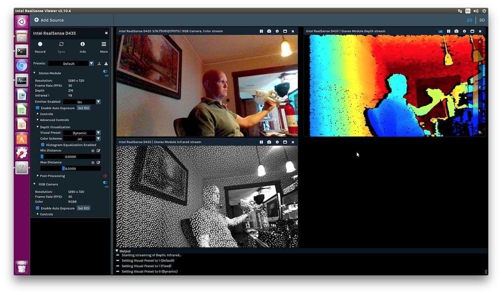 Jetsonhacks — Now with CUDA! Intel RealSense D400 cameras -