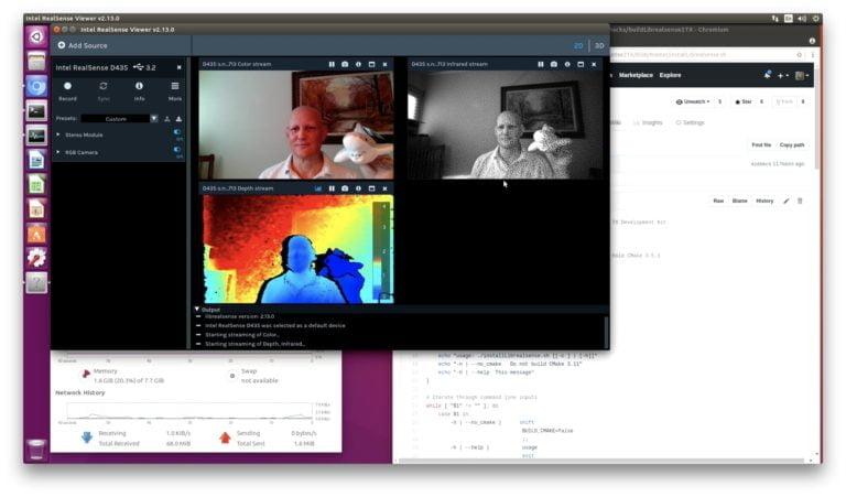 Librealsense Update - NVIDIA Jetson TX Dev Kits - JetsonHacks