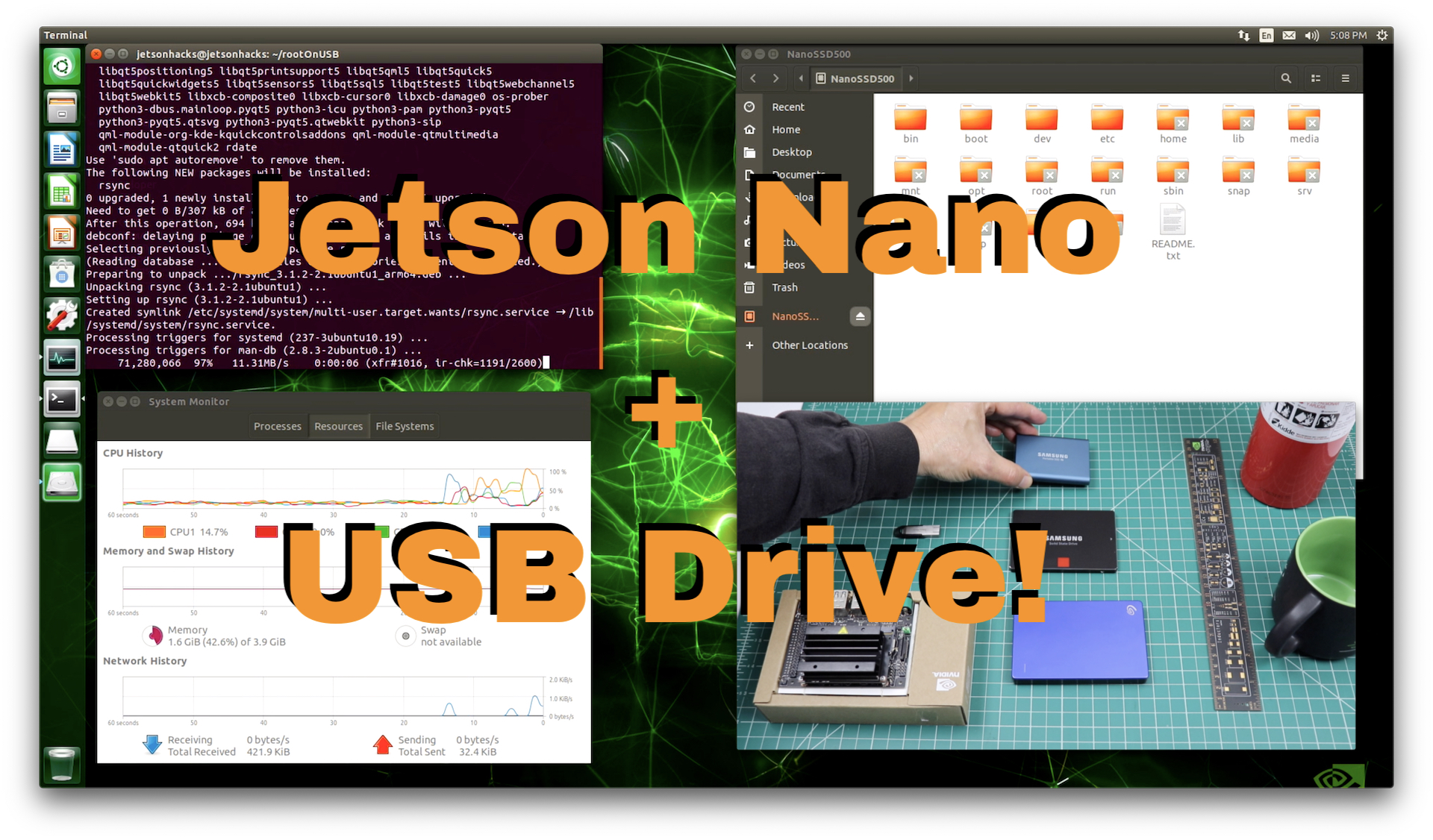 Jetsonhacks — Build OpenCV 3 4 with CUDA on NVIDIA Jetson TX2